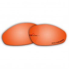 Polarized Lenses for Oakley Straight Jacket New (1999)  (Fire Red Mirror)