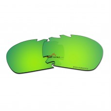 Polarized Vented Lenses for Oakley Jawbone (Green Coating Mirror)