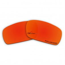 Replacement Polarized Lenses for Oakley Crankshaft (Fire Red Mirror)