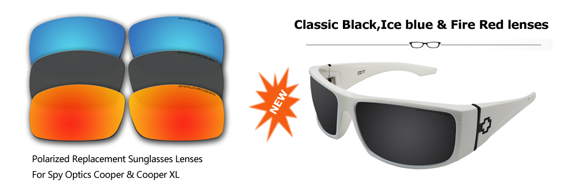 Polarized Sunglasses Lenses for Spy Optics sunglasses