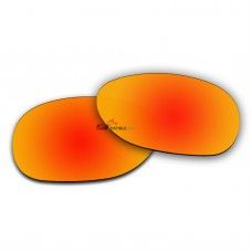Polarized Sunglasses Replacement Lens For Ray-Ban NEW WAYFARER RB2132 (52mm) (Fire Red Coating)