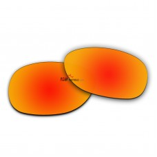 Polarized Sunglasses Replacement Lens For RayBan RB2132 (55mm) (Fire Red Coating)