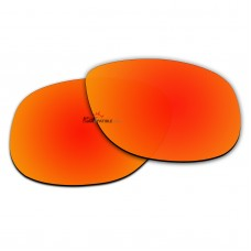 Polarized Sunglasses Replacement Lens For RayBan NEW WAYFARER RB4147 (60mm) (Fire Red Coating)