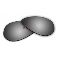 Polarized Sunglasses Replacement Lens For Ray-Ban Aviator Large Metal RB3025 (62mm) (Silver Coating)