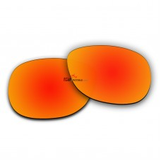 Polarized Sunglasses Replacement Lens For RayBan RB2140 (50mm) (Fire Red Coating)