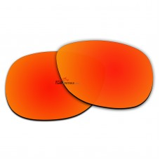 Polarized Sunglasses Replacement Lens For Ray-Ban WAYFARER RB2140 (54mm) (Fire Red Coating)