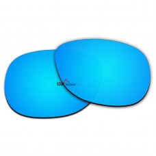 Polarized Sunglasses Replacement Lens For RayBan WAYFARER RB2140 (54mm) (Ice Blue Coating)