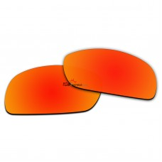 Polarized Sunglasses Replacement Lens For RayBan RB4075 (61mm) (Fire Red Coating)