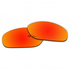 Polarized Sunglasses Replacement Lens For RayBan RB4115 (56mm) (Fire Red Coating)