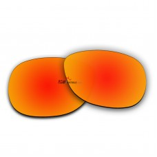 Polarized Sunglasses Replacement Lens For Ray-Ban Justin RB4165 (51mm) (Fire Red Coating)