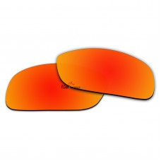 Polarized Sunglasses Replacement Lens For RayBan RB4057 (61mm) (Fire Red Coating)