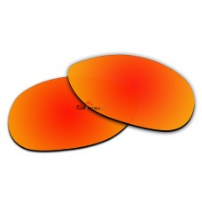 Polarized Sunglasses Replacement Lens For RayBan RB3342 Warrior (60mm) (Fire Red Coating)