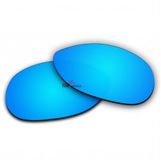 Polarized Sunglasses Replacement Lens For Ray-Ban RB3342 Warrior (60mm) (Ice Blue Coating)