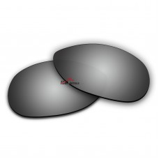 Polarized Sunglasses Replacement Lens For RayBan RB3342 Warrior (60mm) (Silver Coating)
