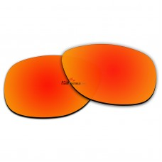 Polarized Sunglasses Replacement Lens For RayBan FOLDING WAYFARER RB4105 (54mm) (Fire Red Coating)
