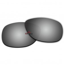 Polarized Sunglasses Replacement Lens For Ray-Ban FOLDING WAYFARER RB4105 (54mm) (Silver)