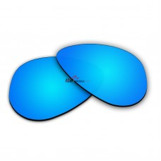 Polarized Sunglasses Replacement Lens For RayBan Aviator Small RB3044 (52mm) (Blue Coating)