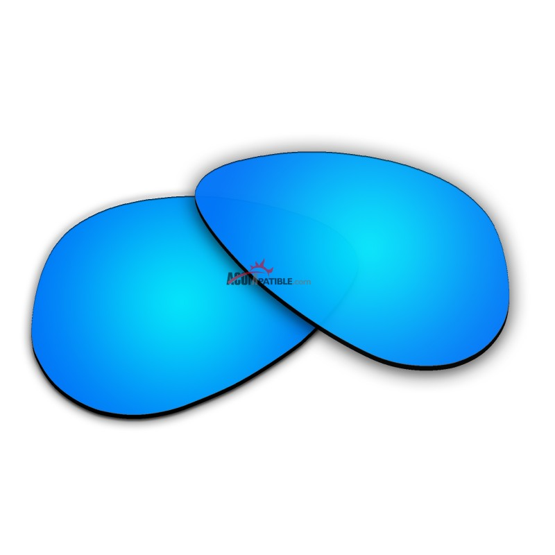 79cf62e3a42 Polarized Sunglasses Replacement Lens For Ray-Ban Aviator Small RB3044 (52mm)  (Blue ...