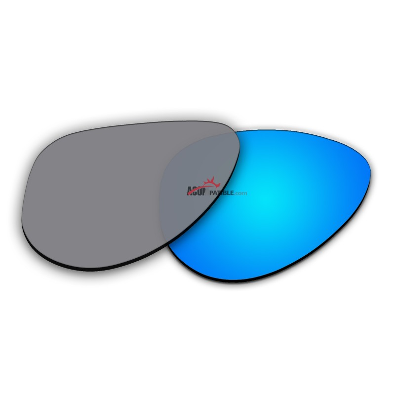 e45034936d5 ... Polarized Sunglasses Replacement Lens For Ray-Ban Aviator Small RB3044 ( 52mm) (Blue
