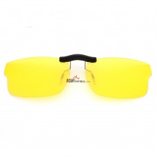 Custom Polarized Clip on Sunglasses For RayBan RB5245 (RX5245) 52x17 (Yellow) - Night Vision