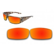 Polarized Replacement Sunglasses Lenses for Spy Optics Cooper (Fire Red Mirror)