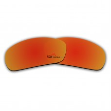 Polarized Replacement Sunglasses Lenses for Spy Optics Bounty (Fire Red Mirror)