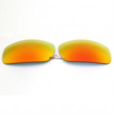 Polarized Replacement Sunglasses Lenses for Spy Optics Clash  (Fire Red Mirror)