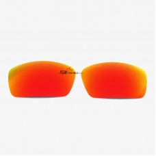Polarized Replacement Sunglasses Lenses for Spy Optics Dirk (Fire Red Mirror)