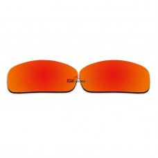 Polarized Replacement Sunglasses Lenses for Spy Optics Hailwood (Fire Red Mirror)
