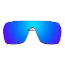 Polarized Replacement Sunglasses Lenses for Spy Optics Flynn (Ice Blue Coating)