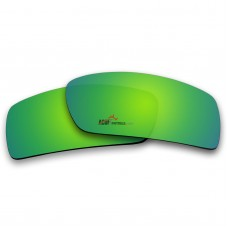 Replacement Polarized Lenses for Oakley Gascan (Emerald Green Mirror)
