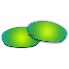 Replacement Polarized Lenses for Oakley Fives 2.0 (Emerald Green Mirror)