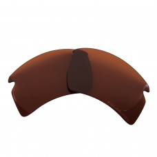 Replacement Polarized Lenses for Oakley Flak 2.0 XL OO9188 (Bronze Brown)