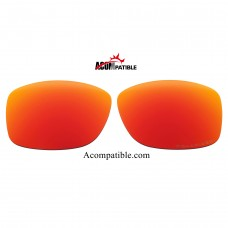 Oakley Jupiter Squared LX Polarized replacement Lenses OO2040 (Fire Red)