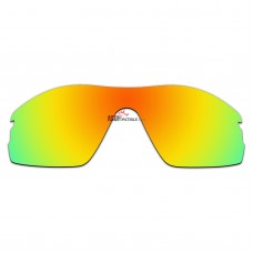 Replacement Polarized Lenses for Oakley Radar Pitch (Fire Red Mirror)