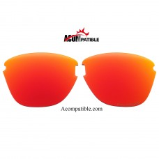 Oakley Frogskins Lite Polarized replacement Lenses OO9374 (Fire Red)