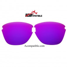 Oakley Frogskins Lite Polarized replacement Lenses OO9374 (Purple Color)