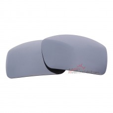 Replacement Polarized Lenses for Oakley Oil Drum (Silver Mirror)