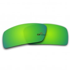 Polarized Lenses for Oakley Gascan Small (S) (Emerald Green Coating)