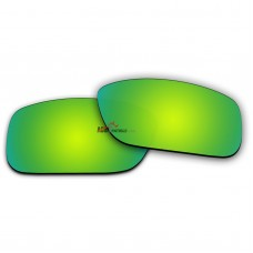 Replacement Polarized Lenses for Oakley Crankcase (Emerald Green Coating Mirror)