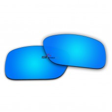 Replacement Polarized Lenses for Oakley Crankcase OO9165 (Ice Blue Coating Mirror)