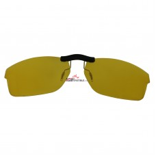 Custom Polarized  Clip On Sunglasses For Oakley CROSSLINK OX8030 55x18 (Yellow) - Night Vision