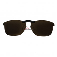 Custom Polarized  Clip On Sunglasses For Oakley Taunt (52) OX1091 52-16-130  (Bronze Brown)