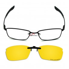 Custom Polarized Hook Up Sunglasses For Oakley WINGSPAN OX5040 5040 53x17 (Yellow) - Night Vision