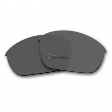 Replacement Polarized Lenses for Oakley Half Jacket 2.0 (Grey)