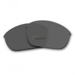 Replacement Polarized Lenses for Oakley Half Jacket 2.0 OO9144 (Grey)