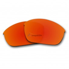 Polarized Lenses for Oakley Half Jacket 2.0 OO9144 (Fire Red Mirror)