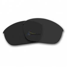 Replacement Polarized Lenses for Oakley Half Jacket 2.0 OO9144 (Black)