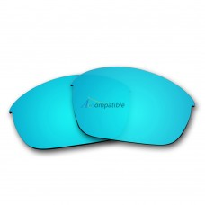 Polarized Lenses for Oakley Half Jacket 2.0 (Ice Blue Mirror)