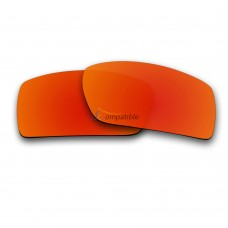 Replacement Polarized Lenses for Oakley Gascan (Fire Red Mirror)